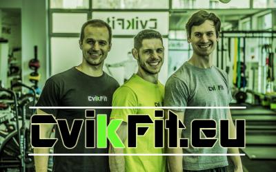 Nová webová stránka – cvikfit.eu
